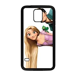 Samsung Galaxy S5 Black phone case Beautifully Disney Heroines Rapunzel DVA0924001