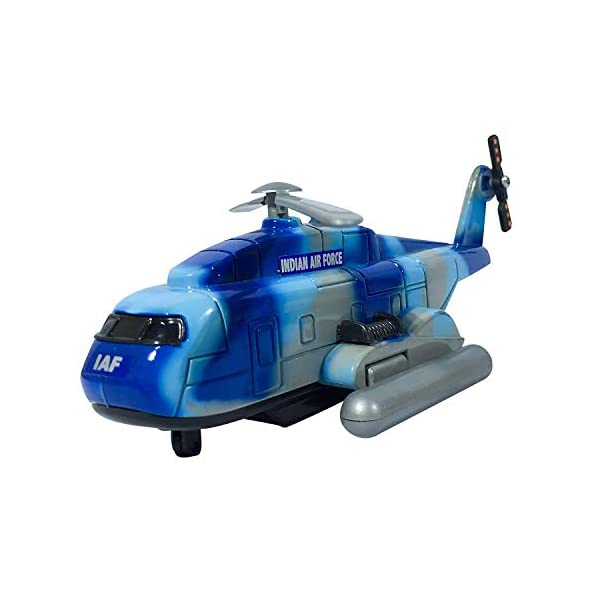 Amisha Gift Gallery Rescue Helicopter – Blue