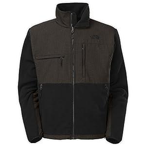 The North Face Men's Full Zip Denali Jacket, TNF Black/TNF Black Plaid, XX-Large