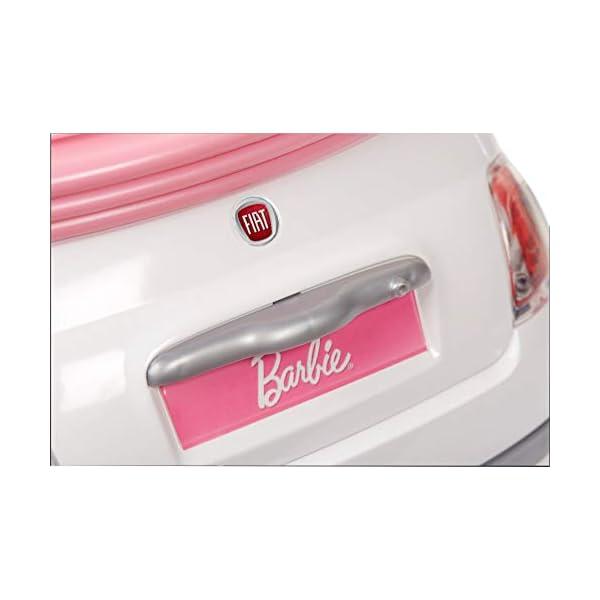 Barbie FVR07 Bambola con Fiat 500, Macchina con Dettagli Realistici, Portiere Apribili 3 spesavip