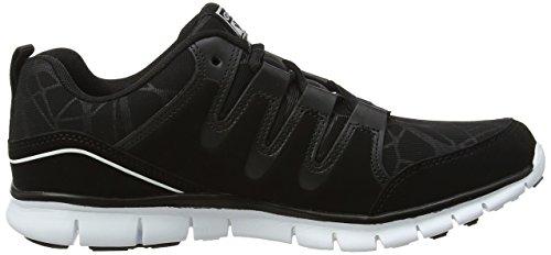 Termas Black Fitness Black Shoes Gola 2 White Women's Cqw8R