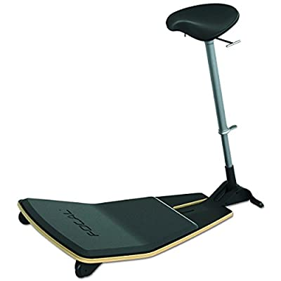 Focal Upright Locus Mobile Stand-up Leaning Seat with Foot Rest Platform
