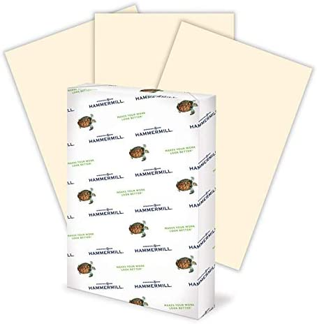Amazon Com Hammermill Ivory Colored 20lb Copy Paper 11x17 1 Ream 500 Total Sheets Made In Usa Sustainably Sourced From American Family Tree Farms Acid Free Pastel Printer Paper 102194r Office Products