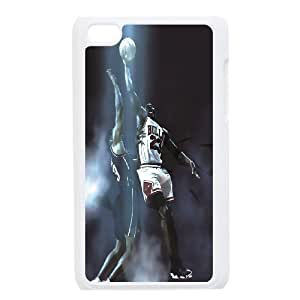 Michael Jardon Basketball Pattern Productive Back Phone Case FOR IPod Touch 4th -Style-19