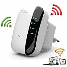 Wireless-N Wifi Repeater 802.11N/B/G Network Wi Fi Routers 300Mbps Range Expander Signal Booster Extender Wifi Ap Wps Encryption^.EU plug