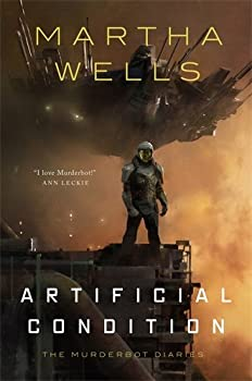 Artificial Condition by Martha Wells fantasy book reviews
