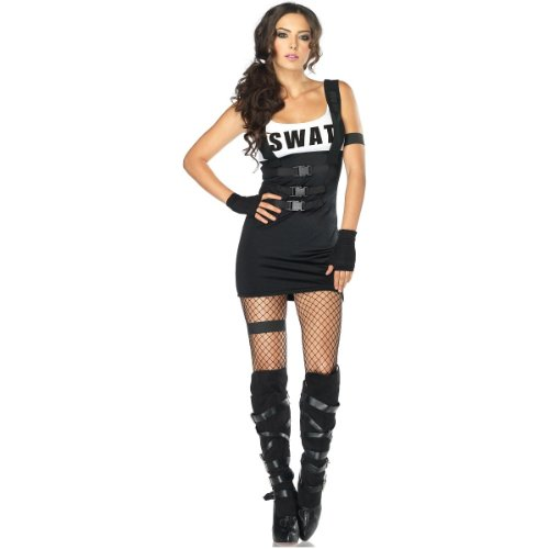 Sultry SWAT Officer Adult Costume - Small/Medium