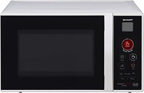 Sharp R-291BKWE Microondas 22L, Sensor One Touch, 800W, 800 ...
