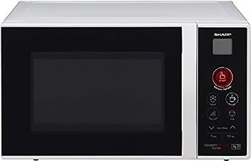 Sharp R291BKWE - Microondas, 22 l, 800 W
