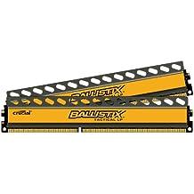 Ballistix Tactical Low Profile 16GB Kit 8GBx2 DDR3-1600 1.35V UDIMM 240-Pin Memory Modules BLT2K8G3D1608ET3LX0