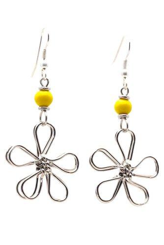 Yellow Daisy Earrings - 9