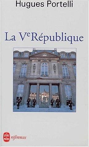En ligne téléchargement La Ve République pdf, epub