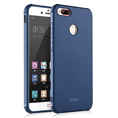 ZTE nubia Z17 mini Funda, Calidad Premium Cubierta Delgado Caso de TPU Silicona Funda Protective Case Cover para ZTE nubia Z17 mini Azul