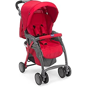 Chicco Simplicity Plus Stroller (Red),...
