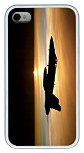 IMARTCASE iPhone 5c Case, Aircraft Army Military F18 Hornet Fighter Jets Air Force Case for Apple iPhone 5c/5 TPU - White