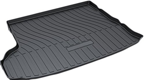 Toyota Highlander Cargo Liner (Cargo Liner Rear Cargo Tray Trunk Floor Mat Waterproof Protector for 2014-2018 Toyota Highlander by Kaungka(with 5 chairs)(Not Fit That with 7 Chairs))
