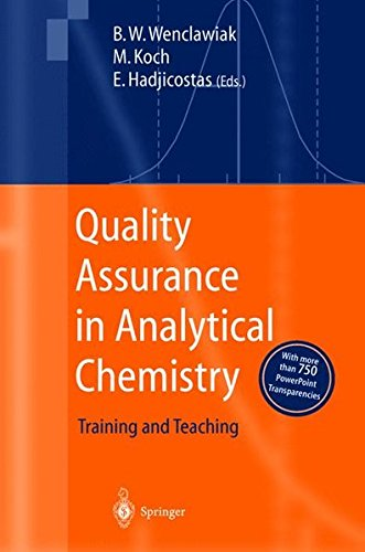 Quality Assurance in Analytical Chemistry: Training and Teaching by Springer