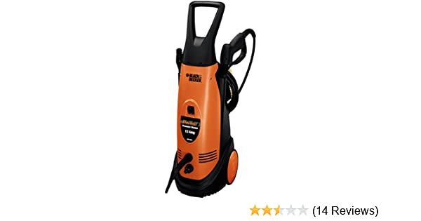 Amazon.com : Black & Decker 1, 500 PSI Electric Pressure Washer PW1500 : Garden & Outdoor