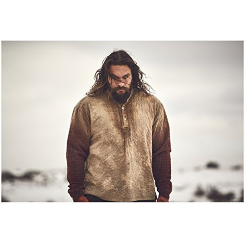 - Jason Momoa 8 Inch x 10 Inch Photograph Frontier (TV Series 2016 - ) Outdoors Chin Down Looking Intense kn