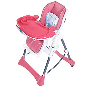 Amazon.com : Giantex Portable Baby High Chair Infant Toddler Feeding Booster Folding Highchair (Pink)