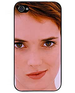 Comics Iphone4s Case's Shop 7842918ZI970381247I4S Hot Fashion Design Case Cover For Winona Ryder iPhone 4/4s