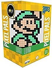 PDP Pixel Pals Luigi - #4 Figuras coleccionables Adultos - FiFiguras de acción y colleccionables (Figuras coleccionables, Multicolor, Videojuego, Adultos, Luigi, 14 año(s))