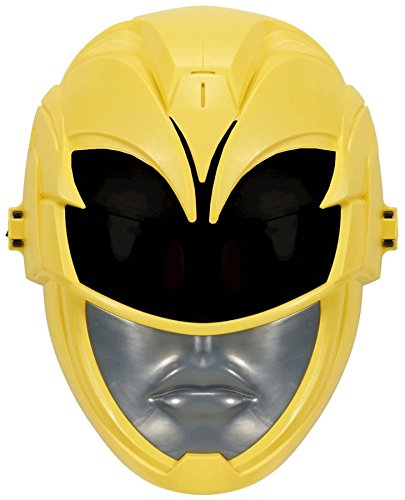 Power Rangers Sabans Movie FX Yellow Ranger Sound Effects Mask Exclusive ()