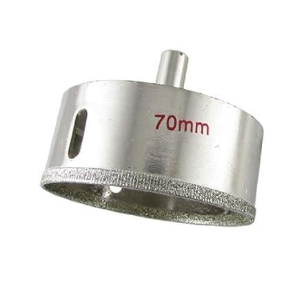 eDealMax tono de plata del corte del vidrio del agujero del diamante vio la herramienta de