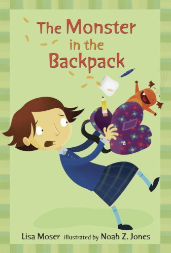 Download The Monster in the Backpack: Candlewick Sparks (Candlewick Readers) PDF