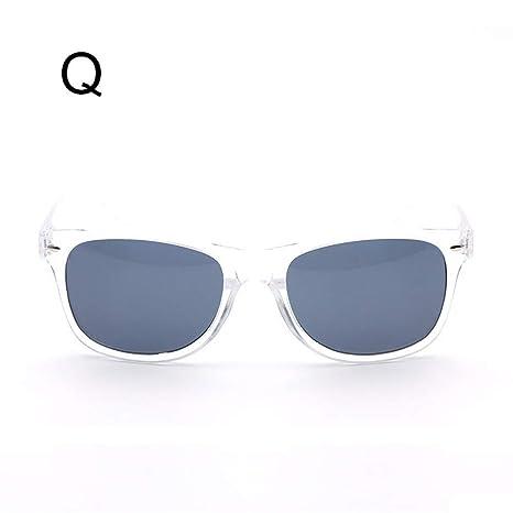 Weiyi0765 Wayfare Aviator Gafas de Sol Retro Vintage de los años 80, para Hombre y