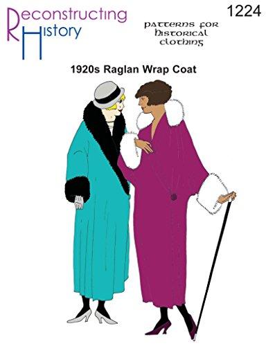 Raglan Wrap - 1920S RAGLAN WRAP COAT PATTERN