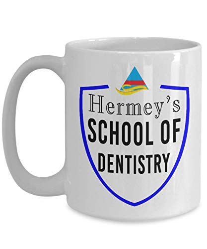 (Hermey's School of Dentistry Coffee Mug - Rudolph the Red Nosed Reindeer Misfit Toys - Dentist Gift )