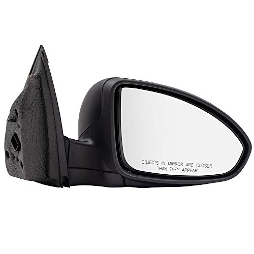 BROCK Power Side View Mirror Passenger for 11-15 Chevrolet Cruze 16 Cruze Limited Textured Black 95186710