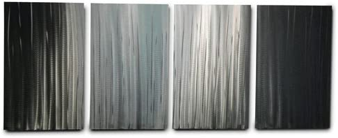 Miles Shay Metal Wall Art, Modern Home Decor, Abstract Wall Sculpture Contemporary- Bamboo Forest