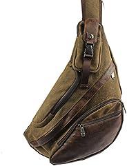 Sling Bag Backpack Crossbody Shoulder Chest Pack for Men Women Travel Outdoor School Business Laptop Cycling H