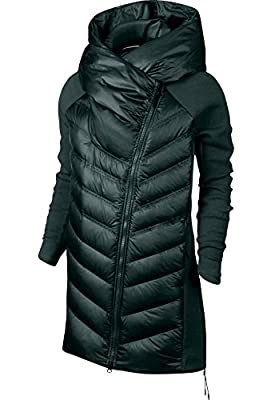 NIKE WOMEN'S 2016-2017 Tech Fleece Aeroloft down Jacket 804976-364