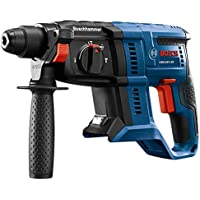 Bosch GBH18V-20N 18V 3/4 in. SDS-plus Rotary Hammer (Bare Tool) + Bosch Core18v 4 Battery Kit (Charger Included)