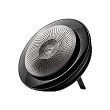 Jabra Speak 710 MS Altavoz Universal Negro, Plata USB/Bluetooth - Altavoces (Universal, Negro, Plata, Portable, 30 m, 70 dB, 1 m)