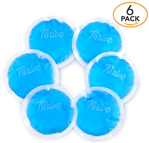 Round Hot & Cold Packs  - Heat or Ice Therapy - Small Flexib