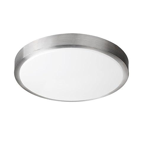 7000k Bright Light 18w Led Ceiling Light Round Flush Mount: Lampwin 18W Round LED Ceiling Light,7000k Bright Light