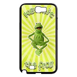 Popular And Durable Designed TPU Case with The Muppets Kermit The Frog Samsung Galaxy N2 7100 Cell Phone Case Black