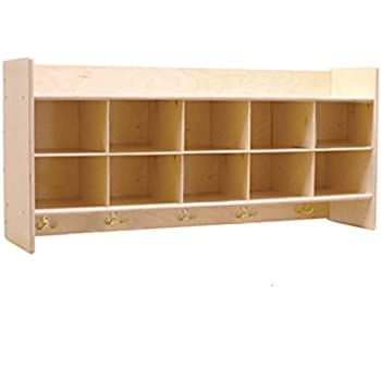 Contender C51409 Wall Locker U0026 Cubby Storage Without Trays