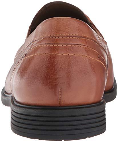 Men's Tan Puppies Hush Slipon Leather Shepsky Dark Loafer CFx4yw5Hzq