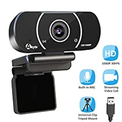 HD Streaming Webcam 1080P,