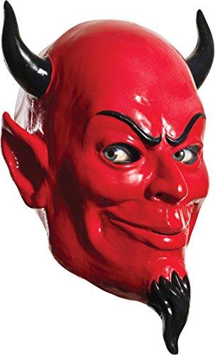 Rubie's Women's Scream Queens Devil Full Latex Mask, Red, One Size for $<!--$14.99-->
