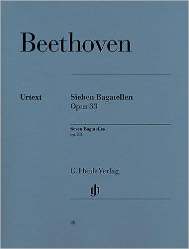 Bagatelles Op.33 Piano