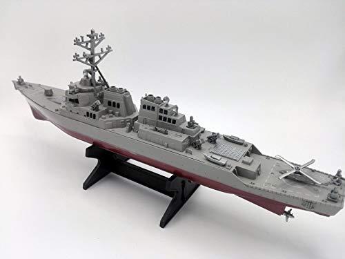 FidgetGear US Navy Guided Missile Destroyer USS Arleigh Burke DDG-51 Ship Display Model Toy