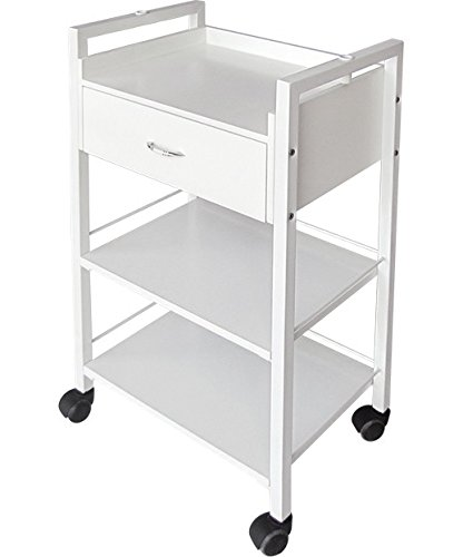 BR Beauty Jenny Salon and Spa Professional Utility Cart by BR Beauty