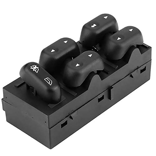 GM_QY Power Window Switch Front Left Driver Side for 2004-2008 Ford F-150 & Ford 2003-2008 Crown & 2003 2004 2005 2006 Expedition & Mercury 2003-2008 Grand & 2003-2004 Marauder 5L1Z-14529-AA