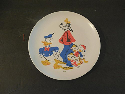 "Child's Disney Plate Approximately 7"" Diameter Unknown Year"